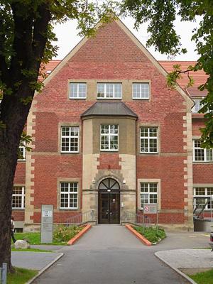 Evangelische Lungenklinik Berlin Eingang